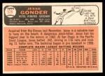 1966 Topps #528  Jesse Gonder  Back Thumbnail