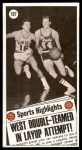 1970 Topps #107   -  Jerry West  All-Star Back Thumbnail