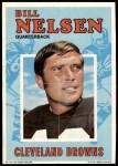 1971 Topps Posters #16  Bill Nelsen  Front Thumbnail
