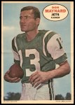 1968 Topps Poster Inserts #14  Don Maynard  Front Thumbnail