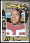 1971 Topps Posters #15  Jim Nance  Front Thumbnail