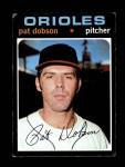 1971 Topps #547  Pat Dobson  Front Thumbnail