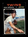 1971 Topps #638  Stan Williams  Front Thumbnail