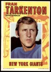 1971 Topps Posters #5  Fran Tarkenton  Front Thumbnail
