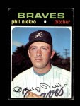 1971 Topps #30  Phil Niekro  Front Thumbnail