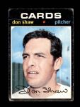 1971 Topps #654  Don Shaw  Front Thumbnail