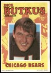 1971 Topps Posters #28  Dick Butkus  Front Thumbnail