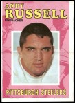 1971 Topps Posters #2  Andy Russell  Front Thumbnail