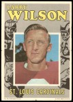 1971 Topps Posters #20  Larry Wilson  Front Thumbnail
