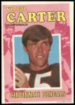 1971 Topps Posters #27  Virgil Carter  Front Thumbnail