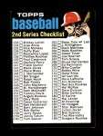 1971 Topps #123 B  Checklist 2 Front Thumbnail
