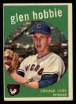 1959 Topps #334  Glen Hobbie  Front Thumbnail