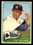 1965 Topps #63  Ty Cline  Front Thumbnail