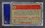 1952 Topps #353  Bobby Del Greco  Back Thumbnail