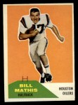 1960 Fleer #99  Bill Mathis  Front Thumbnail