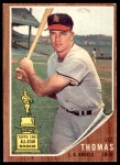 1962 Topps #154 NRM Lee Thomas  Front Thumbnail