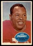 1960 Topps #114  Joe Perry  Front Thumbnail