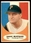 1961 Topps #138  Danny Murtaugh  Front Thumbnail