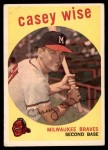 1959 Topps #204  Casey Wise  Front Thumbnail