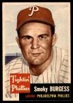 1953 Topps #10  Smoky Burgess  Front Thumbnail