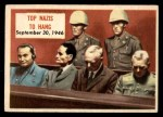 1954 Topps Scoop #124   Top Nazis To Hang Front Thumbnail