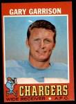 1971 Topps #172  Gary Garrison  Front Thumbnail