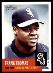 2002 Topps Heritage #145  Frank Thomas  Front Thumbnail