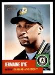 2002 Topps Heritage #128  Jermaine Dye  Front Thumbnail