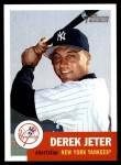 2002 Topps Heritage #114  Derek Jeter  Front Thumbnail