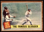 1962 Topps #138 NRM  -  Babe Ruth The Famous Slugger Front Thumbnail