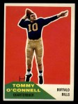 1960 Fleer #19  Tom O'Connell  Front Thumbnail