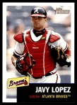 2002 Topps Heritage #201  Javy Lopez  Front Thumbnail