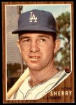 1962 Topps #238  Norm Sherry  Front Thumbnail