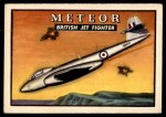 1952 Topps Wings #50   Meteor Front Thumbnail