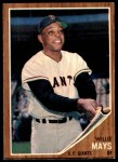 1962 Topps #300  Willie Mays  Front Thumbnail
