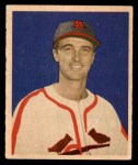 1949 Bowman #95  Howie Pollet  Front Thumbnail