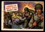1954 Topps Scoop #30   Landings On North Africa Front Thumbnail