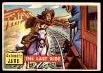 1956 Topps Round Up #20   -  Calamity Jane The Last Ride Front Thumbnail