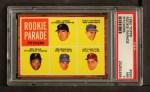 1962 Topps #593   -  Bob Veale / Jack Lamabe / Craig Anderson / Jack Hamilton / Bob Moorhead Rookie Parade - Pitchers Front Thumbnail