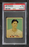 1949 Bowman #231  Earl Johnson  Front Thumbnail