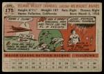 1956 Topps #175 GRY Del Crandall  Back Thumbnail