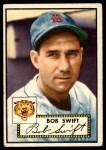 1952 Topps #181 CRM Bob Swift  Front Thumbnail