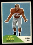 1960 Fleer #44  Ray Moss  Front Thumbnail