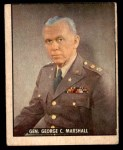 1950 Topps Freedoms War #200   General George C. Marshall  Front Thumbnail