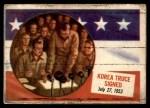 1954 Topps Scoop #67   Korea Truce Signed  Front Thumbnail
