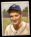 1950 Bowman #17  Sid Hudson  Front Thumbnail