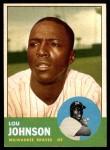 1963 Topps #238  Lou Johnson  Front Thumbnail