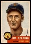 1953 Topps #239  Jim Delsing  Front Thumbnail