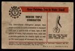 1953 Bowman Firefighters #55   Modern Triple Combination - International Back Thumbnail
