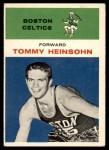 1961 Fleer #19  Tom Heinsohn  Front Thumbnail